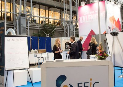 EFIC booth at pain in europe x