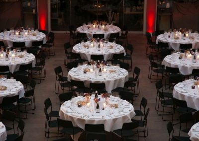 Tables at EFIC's President dinner during Pain in Europe X