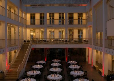 Dinner hall at Pain in Europe X