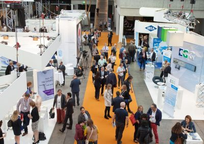 View from the exhibition area at Pain in Europe X